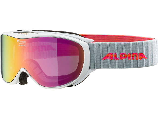 Alpina Challenge 2.0 Multimirror S2 Gafas, white-flamingo pink